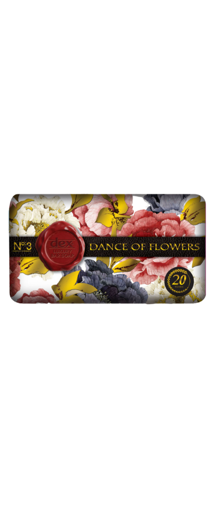 Dex Bar Soap 150 gr Luxury Series - Dance of Flowers