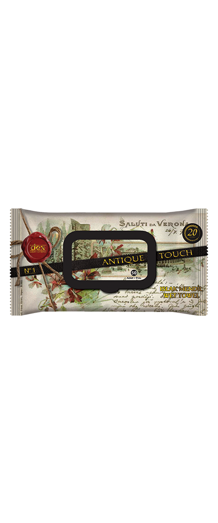 Islak Havlu 50'li Luxury Series Antique Touch